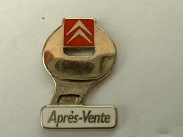 PIN'S CITROËN - APRES VENTE - ZAMAC - Citroën