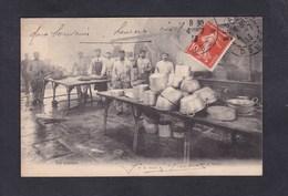 Militaria Besancon Les Cuisines F.D. Editeur Voyagé En 1913 De Besancon à Valentigney - Besancon