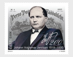 Estland / Estonia - Postfris / MNH - 200 Jaar Johann Voldemar Jannsen 2019 - Estland