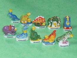 Sèrie De Fèves Complète : Les Dinosaures - Animals