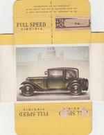 FULL SPEED VIRGINIA Nr 57, Steyr 1929 - Cigarette Cards