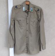 Camicia Pantaloni Estivi E.I. Caporale Genio Trasmissioni Divisione Folgore Anni '70 - Divise