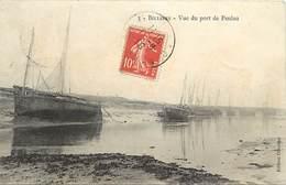 -dpts Div-ref-AK309- Morbihan - Billiers - Vue Du Port De Penlau - Bateaux  De Pêche - Carte Bon Etat - - Other Municipalities