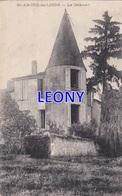 CPA De ST AMCRE De LIDON - ST ANDRE De LIDON (17) - Le CHATEAU -1918 - France