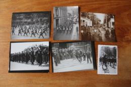 Lot De Photos De  Musique Militaire  Lot 1r - War, Military