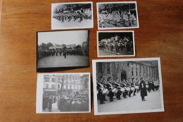 Lot De Photos De  Musique Militaire  Lot 2 - Guerra, Militares