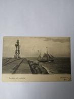 IJmuiden // Noord Pier Met Loodskotter   (schip - Scheepvaart) 190? - IJmuiden