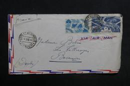 COTE DES SOMALIS - Enveloppe De Djibouti Pour Besançon En 1947 - L 30873 - Lettres & Documents