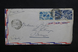 COTE DES SOMALIS - Enveloppe De Djibouti Pour Besançon En 1947 - L 30873 - Côte Française Des Somalis (1894-1967)