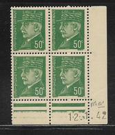 FRANCE  ( FCD4 - 138 )  1941  N° YVERT ET TELLIER  N° 506  N** - Coins Datés