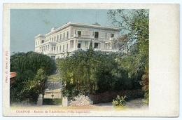 CORFOU : ENTREE DE L'ACHILLEION (VILLA IMPERIALE) - Grèce