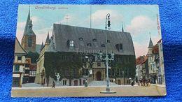 Quedlinburg Rathaus Germany - Quedlinburg