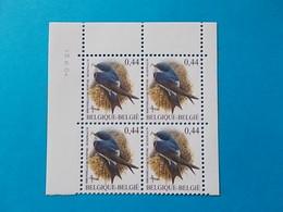 A - 10 %  BLOC DE 4  N ° 3266  DU 12 III 04 - 1985-.. Oiseaux (Buzin)
