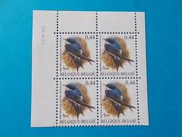 A - 10 %  BLOC DE 4  N ° 3266  DU 20 III 04 - 1985-.. Oiseaux (Buzin)