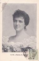 Photo Carte De S.M. A Rainha D. Amelja Circulée En 1908 - Portugal