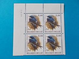 A - 10 %  BLOC DE 4  N ° 3266  DU 2 IV 04 - 1985-.. Oiseaux (Buzin)