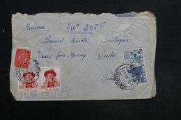 PORTUGAL - Enveloppe Pour La France En 1947 , Affranchissement Plaisant - L 30888 - Lettres & Documents