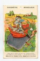 Illustrateur EMY (Bouret) . Baromètre Miraculeux . Chat Cat Katze - Illustratori & Fotografie