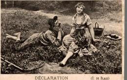 CHROMO FIL DE LIN EXTRA HF A LA CARAVANE  DECLARATION  E. DE BLAAS - Other