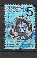 Kazakhstan 2013  Valentina Tereschcova, First Woman Cosmonaut   Used - Kazakhstan