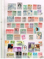 Lot Ex-territoires Brittaniques  à Identifier - Briefmarken