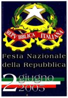 [MD3515] CPM - 2 GIUGNO 2005 FESTA NAZIONALE DELLA REPUBBLICA - PERFETTA - NV - Eventos