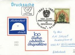 Oostenrijk 1983, 100 Jaar Arbeidsinspectie, Gelopen - FDC