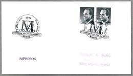 Matasellos XXIV FERIA NACIONAL DEL SELLO. Madrid 1992 - 1931-Hoy: 2ª República - ... Juan Carlos I