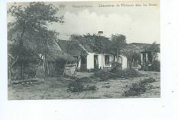 Nieuwpoort Nieuport Chaumières De Pêcheurs Dans Les Dunes - Nieuwpoort