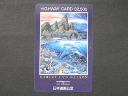 JAPAN HIGHWAY PREPAIDCARD Y 32.500 - FISH - Giappone