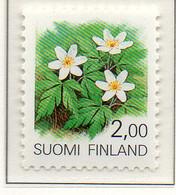 PIA - FINLANDIA - 1990  : Piante E Fiori Delle Province Finlandesi -  (Yv 1066-67) - Flora