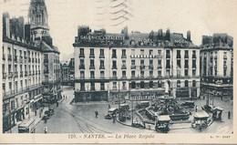 CPA 44 (Loire Atlantique) NANTES / LA PLACE ROYALE / ANIMEE - Nantes