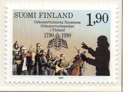 PIA - FINL  - 1990 : Bicentenario Delle Orchestre In Finlandia - (Yv 1068) - Musica