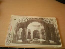 Old Cardboard 1892 Gralstempel   Hans Brand Kgl Bayr. Hofphotograph Bayreuth Kabinet Portrait - Anciennes (Av. 1900)