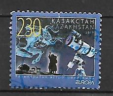 Kazakhstan 2009 EUROPA Stamps - Astronomy  Used - Kazakhstan