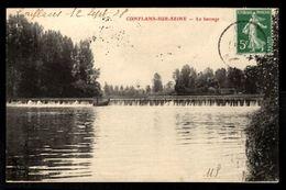 51 - CONFLANS SUR SEINE (Marne) - Le Barrage - France
