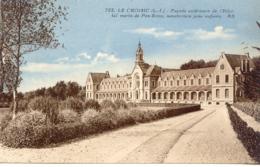 CPA - LE CROISIC - HOPITAL MARIN DE PEN-BRON - FACADE EXTERIEURE - Le Croisic