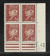 FRANCE  ( FCD4 - 210 )  1941  N° YVERT ET TELLIER  N° 515  N** - Coins Datés