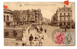 34066-ZE-BELGIQUE-Ostende-Rampe Est Du Kursaal Et Boulevard Van Iseghem---------------animée-voitures - Oostende