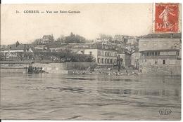 VUE SUR SAINT GERMAIN - Corbeil Essonnes