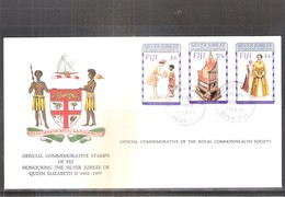 FDC Fiji - Silver Jubilee Of QEII - 1977  (to See) - Fidji (1970-...)