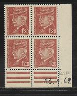 FRANCE  ( FCD4 - 218 )  1941  N° YVERT ET TELLIER  N° 515  N** - Coins Datés