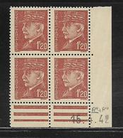 FRANCE  ( FCD4 - 219 )  1941  N° YVERT ET TELLIER  N° 515  N** - Coins Datés