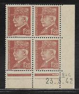 FRANCE  ( FCD4 - 220 )  1941  N° YVERT ET TELLIER  N° 515  N** - Coins Datés