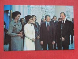 United Nations Secretary General Kurt Waldheim   President Jimmy Carter March 16  1977-------       Ref 3399 - Historical Famous People