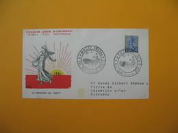 FDC 1961  France  N° 1234A  La Semeuse De Roty   Cachet Musée Postal Paris - FDC