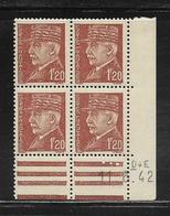 FRANCE  ( FCD4 - 224 )  1941  N° YVERT ET TELLIER  N° 515  N** - Coins Datés