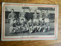 FOOTBALL:TRES RARE CHROMO DU SC ANDERLECHT ANNEES 60 - Voetbal