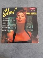 Disque De Earl Bostic Et Son Saxo Alto - Smoke Gets In Your Eyes - Vogue EPL. 8084 - 1963 - - Jazz