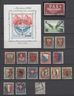 Schweiz , Steckkarte Mit älteren Besseren Marken , Katalogwert über 800 Euro - Switzerland